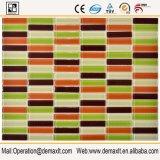 Vetro di bordi del camino dei quadrati delle mattonelle del raggruppamento del mosaico del nero di prezzi di fabbrica
