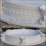 Syndicat de prix ferme en pierre de marbre Mpl-171 de jardin