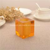 Supporto di candela di cristallo naturale di colore K9
