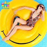 空気水泳の微笑のプールの膨脹可能なSmilelyのプールのEmojiの浮遊微笑の表面マットの浮遊物