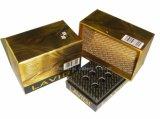 Cadre de papier rigide de clinquant d'or de luxe pour l'empaquetage d'ampoule