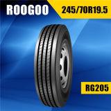 Neumático sin tubo radial certificado escritura de la etiqueta del acoplado del neumático del carro del PUNTO (225/70r19.5 245/70r19.5 265/70r19.5)