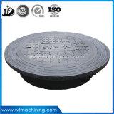 Chinease fundición de hierro dúctil de la cubierta de boca / Tapas de registro para el agua de lluvia