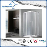 Zaal van de Douche van het Glas van de badkamers de de Eenvoudige en Bijlage van de Douche (AE6832A)