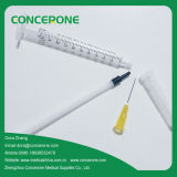1ml Luer Lock Medical Syringe con 3 Parte