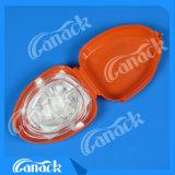一方通行弁の救急処置小型CPRマスク
