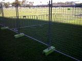 Панели загородки конструкции временно, связывают также UV обработанную ногу 2.1m x 2.4m блока HDPE