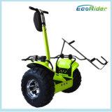 Zwei Golf elektrischer Charict Roller des Rad-Roller-Samsung-Lithium-72V 4000W