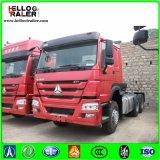 HOWO 트럭 트랙터 6X4 371HP 디젤 엔진 트랙터 트럭