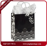 Lombard Lime Shoppers Promotional fashion Custom Skirt Shopping Paper Bag