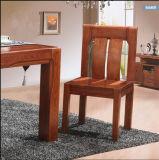 現代固体灰の食堂テーブルおよび椅子