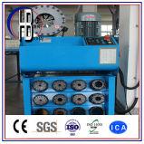 Le ce a certifié la machine sertissante de boyau hydraulique de matrices d'évolution rapide