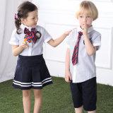 Beaux uniformes scolaires de gosses, modèle coloré de jupe d'uniforme scolaire de Peetty de gosses