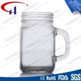 caneca do pedreiro do vidro de sílex 430ml com tampão (CHM8117)