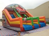 School와 Party를 위한 상업적인 Inflatable Elephant Jungle Bouncer Slide