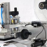 De halfautomatische Vlakke Machine van de Etikettering van de Sticker
