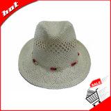 Бумажный шлем Панамы Sun Fedora сторновки