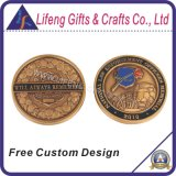 Libre crear la moneda de la solapa para requisitos particulares del metal