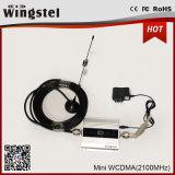 LCDが付いている熱い販売のMiniwcdma 2100MHz 3Gの移動式シグナルのアンプ