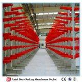 Gebruikt rond de Gebruikte Opslag die van het Pakhuis en van de Opslag van China van de Wereld Apparatuur het Industriële Rekken van de Cantilever opschort