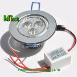 LED 천장 빛 3*1W는 데운다 백색 LED 빛 (3W)를
