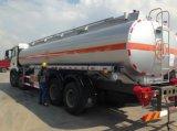 Sinotruk HOWO 8X4 combustible para el transporte de vehículos Camión Cisterna de Combustible