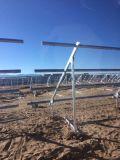 Bride solaire ferme pour la centrale électrique solaire