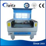 Máquina de gravura pequena do laser Ck960 com linha central giratória