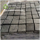 Basalto nero che pavimenta la pietra del ciottolo ingranata Setts per il giardino/patio/passaggio pedonale/strada privata