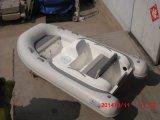 Mini fleuve gonflable de Liya 11ft transportant le bateau par radeau de côte de fibre de verre