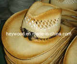 sombrero del papel de paja