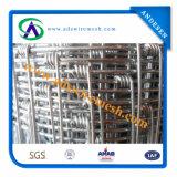 alta rete fissa dell'azienda agricola animale della galvanostegia 260G/M2 di 1mx100m, rete fissa del campo, rete fissa dei cervi