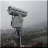 5 Kmの夜間視界の長距離PTZズームレンズ赤外線レーザーの保安用カメラ