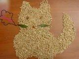 قطّ منتوجات بنتونيت طين قطّ نقّال فضلات [كلومبينغ] قطّ نقّال فضلات مغرفة