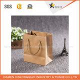 Bolsos del regalo del papel de bolsa de papel de la alta calidad con las manetas de la cinta