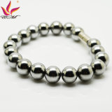 Pulseira magnética Htb007A Silver Hematite Charm for Promotion Gifts