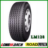 Neumático del PUNTO, neumático en Amercia, neumático sin tubo del carro pesado (11R22.5 11R24.5) del carro