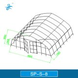 Sp S 8 갱도 플레스틱 필름 온실