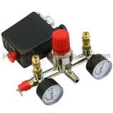 1つまたは四方空気圧縮機の圧力制御スイッチ