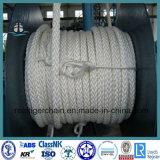 4-120mm doppeltes umsponnenes Liegeplatz-Seil mit ABS Bescheinigung