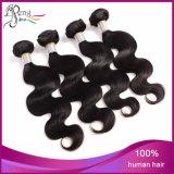 A onda brasileira do corpo do cabelo do Virgin personalizou 8-32 do cabelo polegadas de pacotes do Weave