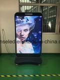 Stand extérieur de la forme DEL d'iPhone de P2.5 P3 P4 annonçant l'affiche d'étalage