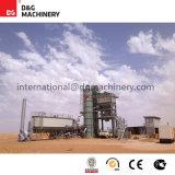 Planta de mezcla de procesamiento por lotes por lotes de 140 t/h/planta del asfalto
