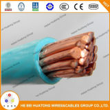 UL66 fio de nylon contínuo e encalhado de UL62 da isolação de cobre do PVC do condutor do revestimento do edifício