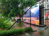 Schermo esterno dell'affitto LED di Gloshine Ls4.81 Curveable