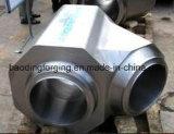 機械部品の高圧鍛造材のための造られたまたは鍛造材鋼鉄ティー