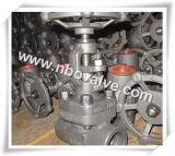 Kundenspezifisches angeflanschtes NPT/Sw schmiedete Stahlventile (J11)