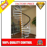 Escalera espiral de la pisada de madera prefabricada (JBD-S9)