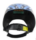 Il colore blu Automatico-Scurisce il casco della saldatura con l'aquila