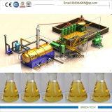 Refinería del petróleo crudo a la máquina diesel 12 toneladas por el tratamiento por lotes